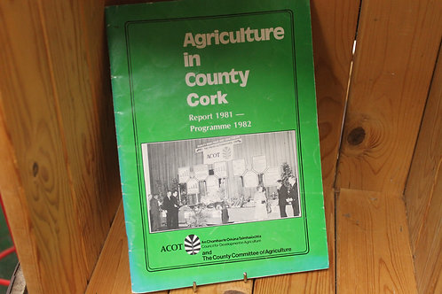 Agriculture in County Cork book