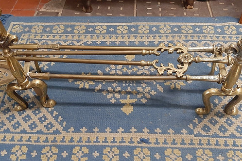 Solid Brass Fire thongs set 🔥