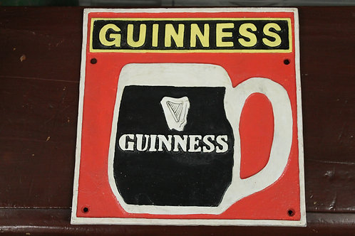 Guinness (Cast Iron sign)