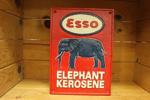 Esso (Cast Iron Sign)