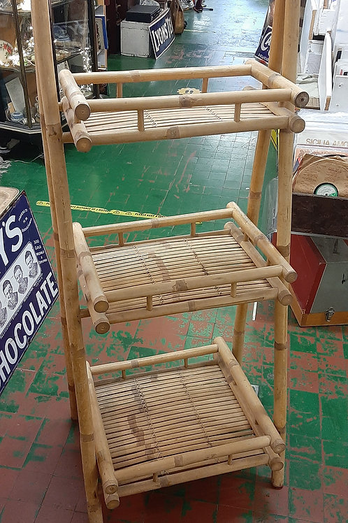 Bamboo fold up stand.