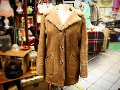 Genuine sheepskin jacket