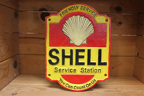 Shell (Cast Iron Sign)