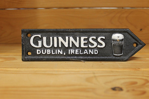 Guinness (Small) Cast Iron Sign