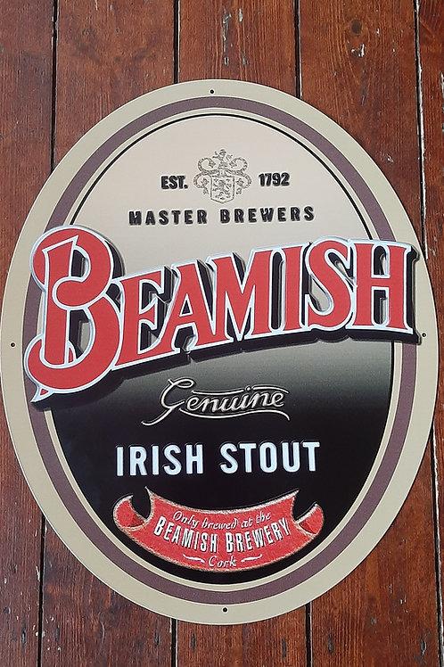 Beamish metal sign (Reproduction)