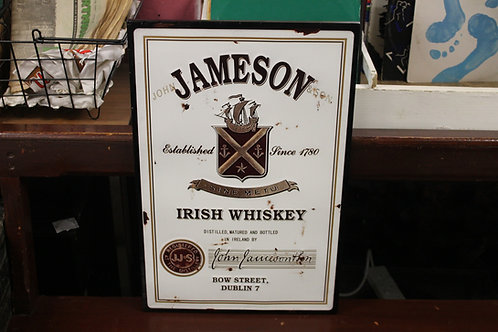 Jameson metal sign (Reproduction)