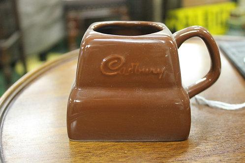 Vintage Cadbury's chocolate cup.
