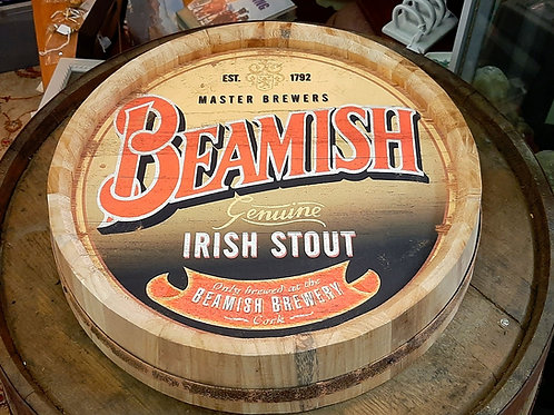 Beamish Wooden Barrell top (Reproduction)