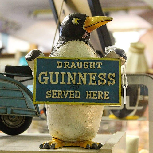 Guinness Penguin (Reproduction) Cast iron