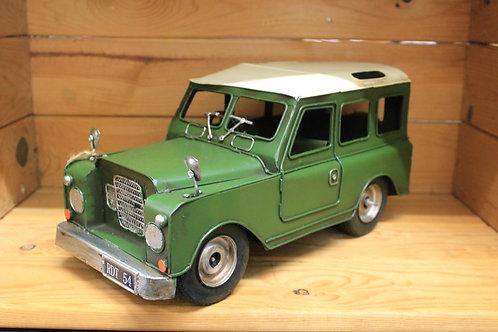 Land Rover metal replica (New)