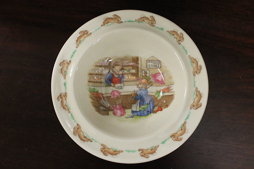 Royal Dunton Bunnykins bowl (Vintage)