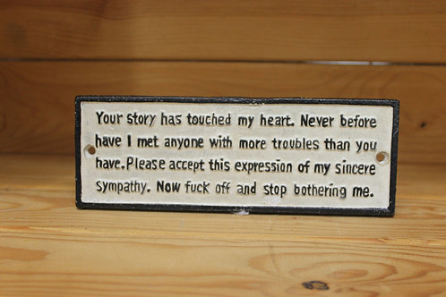 Your story has touched my heart...
