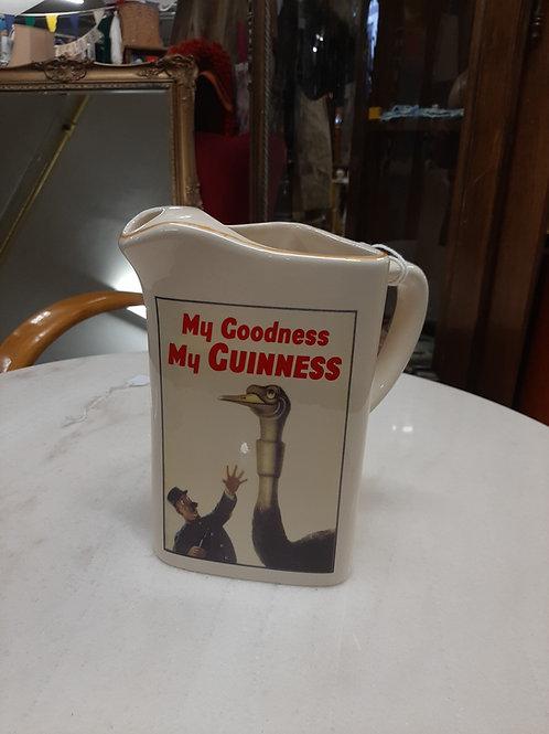 My goodness my Guinness ostrich jug
