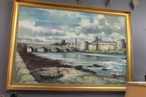 Original Tom Greaney painting of Limerick.