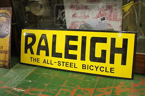 Raleigh Large metal sign (Reproduction)