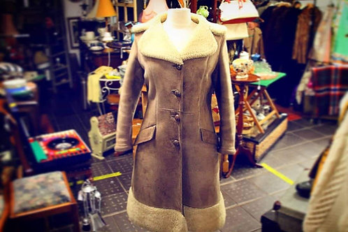 Ladies genuine sheepskin jacket