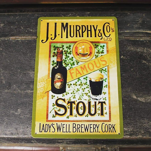 Murphy's sign (Reproduction metal sign)