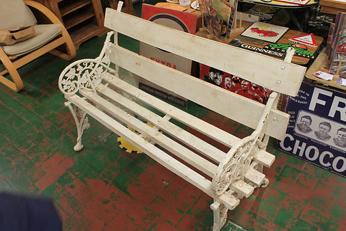 Cast iron/wooden bench (Reproduction)
