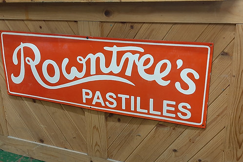 Rowntrees metal sign (Reproduction)