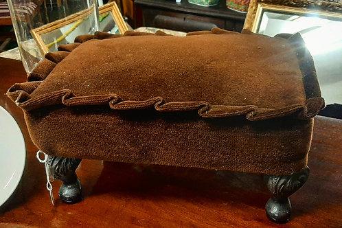 Vintage foot stool.