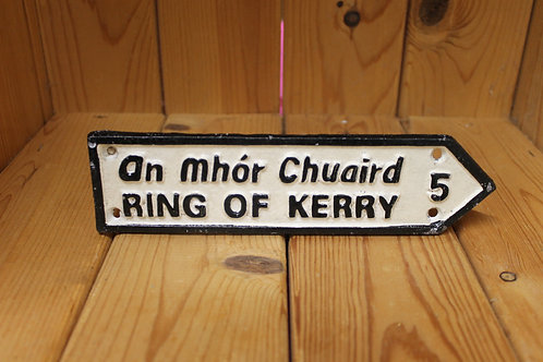 Ring of Kerry (Small Cast Iron Sign)