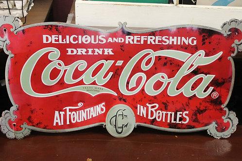 Coca cola (Reproduction metal sign)