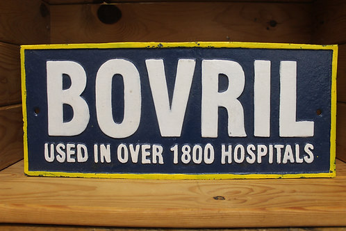 Bovril (Cast Iron Sign)
