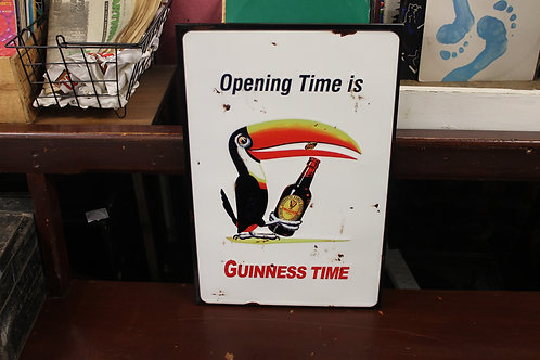 Guinness sign (metal reproduction)