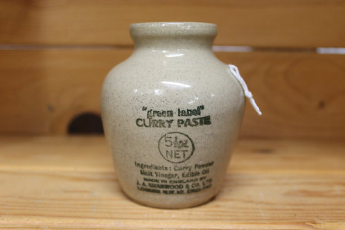 Curry Paste Jar (Vintage)