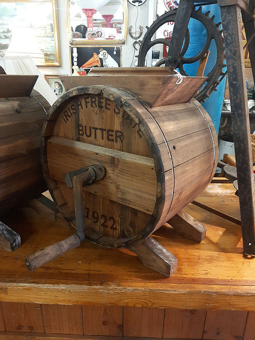 Reproduction butter churn