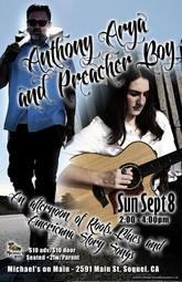 Anthony Arya & Preacher Boy: Live at Mic