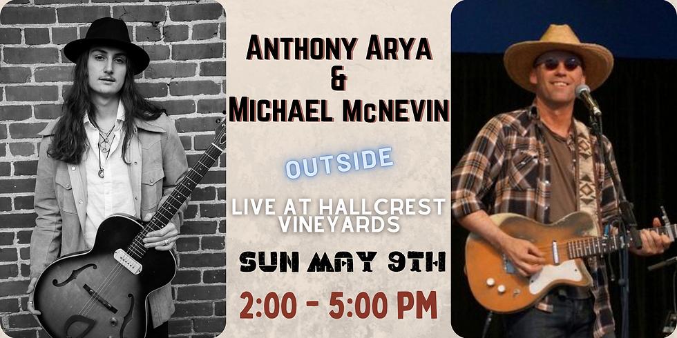 Anthony Arya & Michael McNevin Live at Hallcrest Vineyards