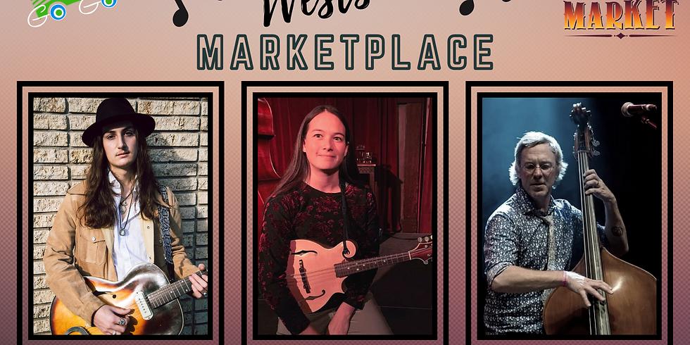 Anthony Arya, AJ Lee, & Chad Bowen: Live at Westside Marketplace