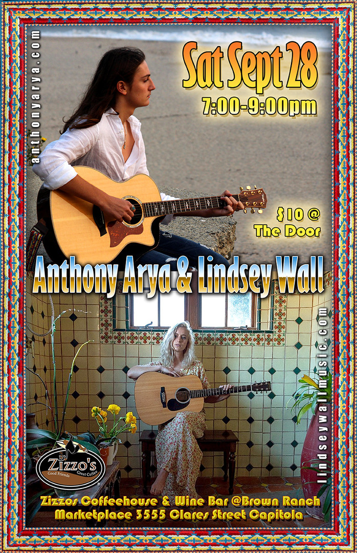 Anthony Arya & Lindsey Wall_ Live at Ziz