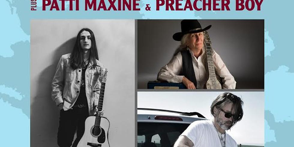 Anthony Arya with Preacher Boy & Patti Maxine