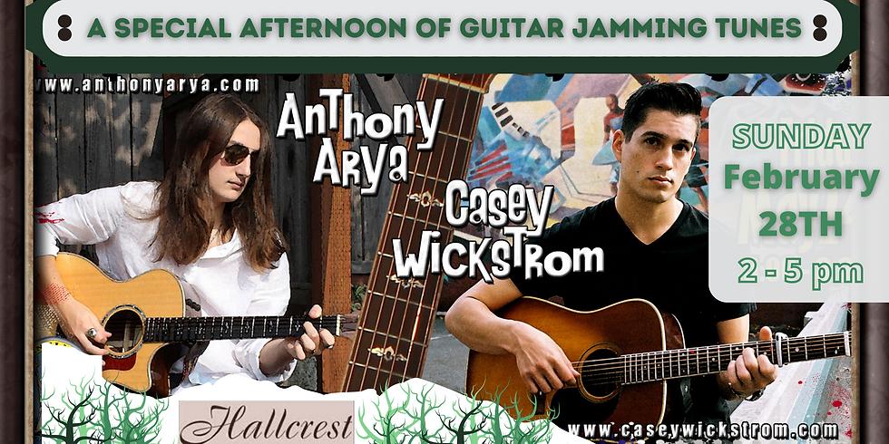 Anthony Arya with Casey Wickstrom - Live at Hallcrest Vineyards