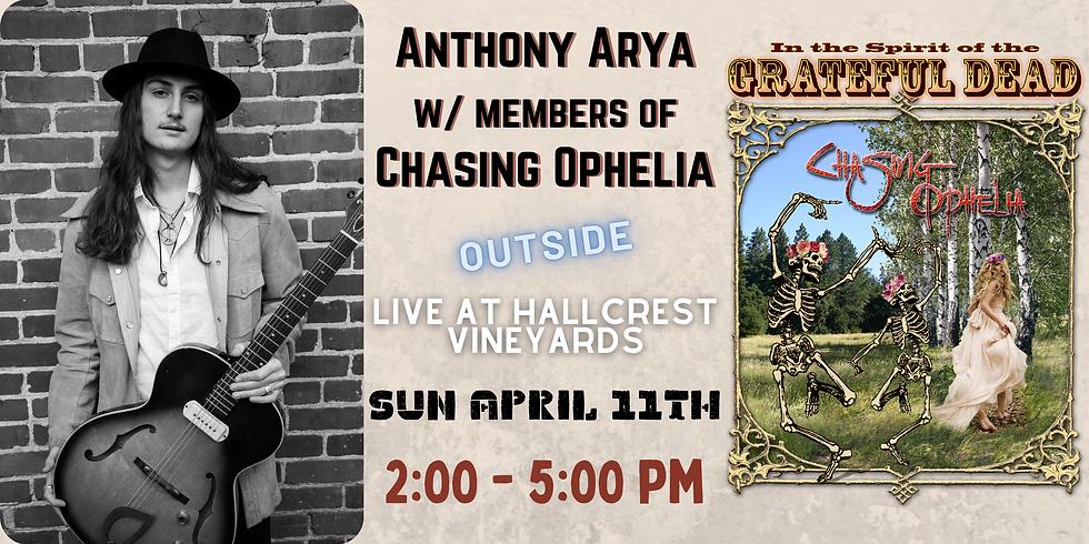 Anthony Arya w/ Members of Chasing Ophelia: Live at Hallcrest Vineyards
