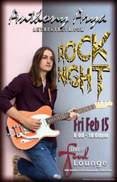 Anthony Arya - Rock Night at the Food Lounge