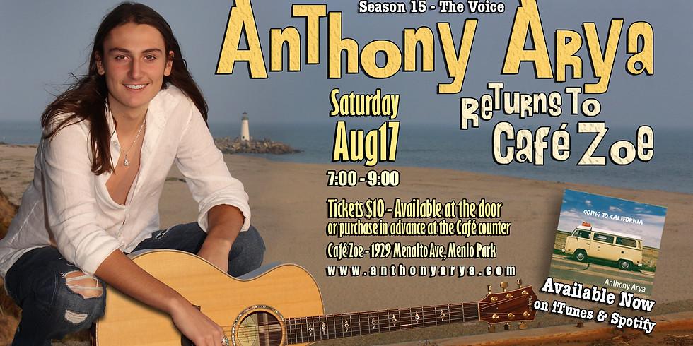 Anthony Arya - Return to Cafe Zoe