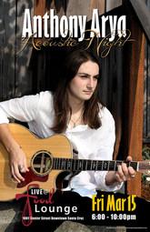 Anthony Arya - Acoustic Night at the Food Lounge