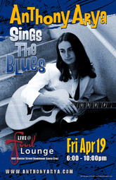 Anthony Arya - Blues Night at the Food Lounge