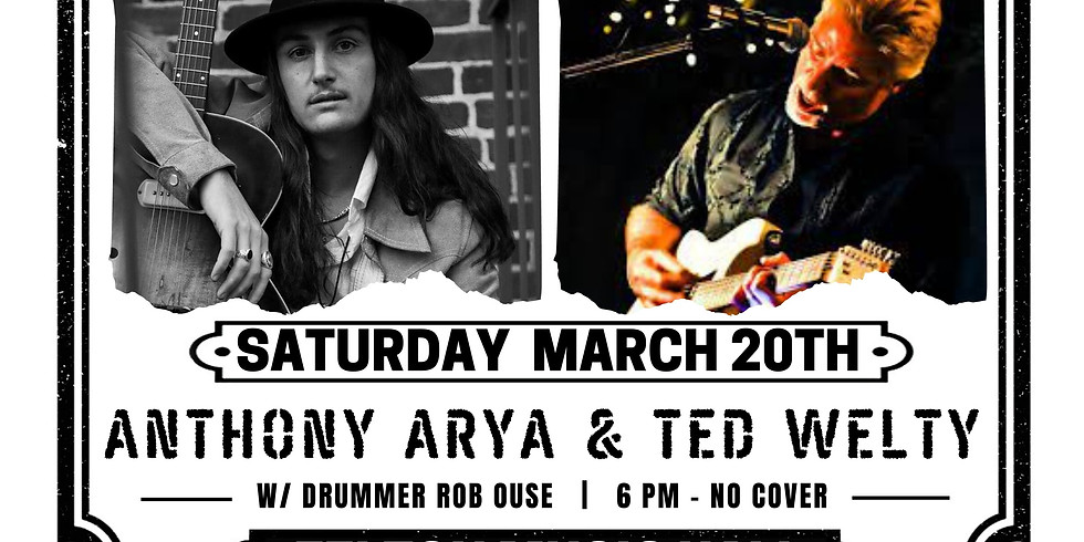 Anthony Arya & Ted Welty Live at Felton Music Hall