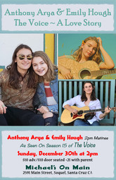 Anthony Arya and Emily Hough at Michael's on Main