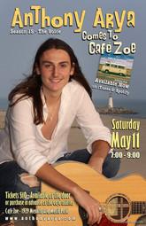 Anthony Arya at Cafe Zoe
