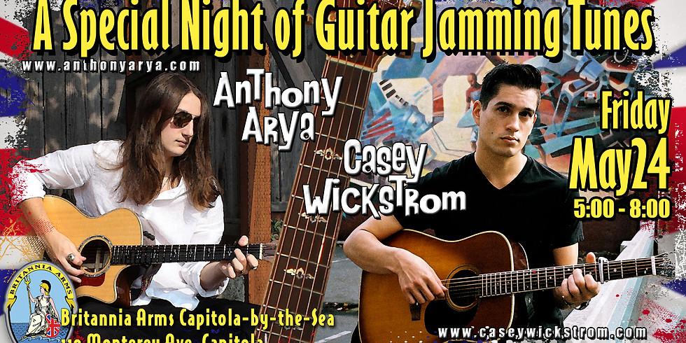 Anthony Arya and Casey Wickstrom