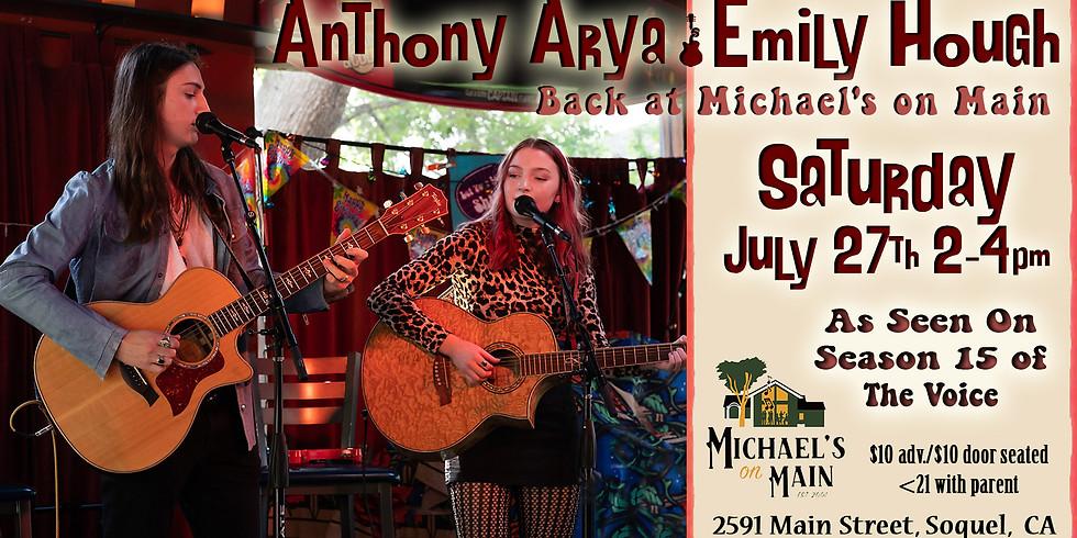 Anthony Arya & Emily Hough