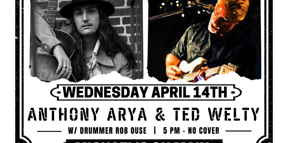 Ted Welty w/ Anthony Arya - Live at Michael's on Main