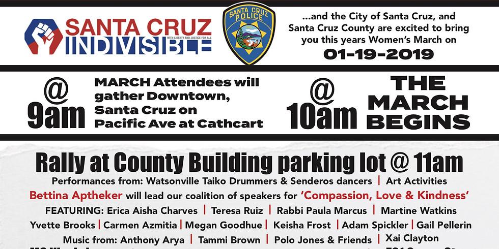 Santa Cruz Women's March