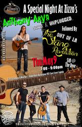 Anthony Arya & The String Revolution at Zizzo's