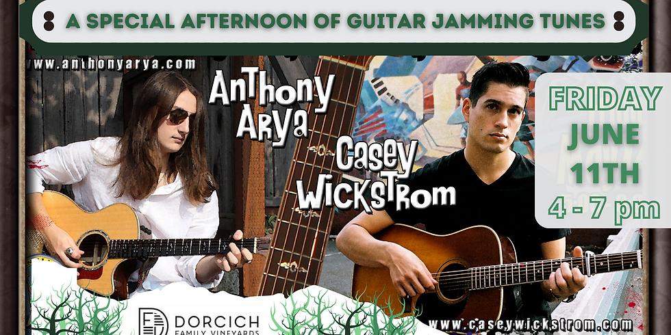 Anthony Arya & Casey Wickstrom - Live at Dorcich Family Vineyards